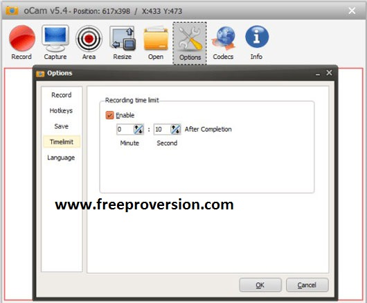 oCam Screen Recorder Pro Crack Full Version Free Download