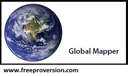 Global Mapper 19.1 Full Crack + Keygen With Serial Number Free Download
