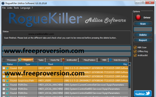 RogueKiller 14.4.0.0 Crack + Serial Key 2020 Free Download
