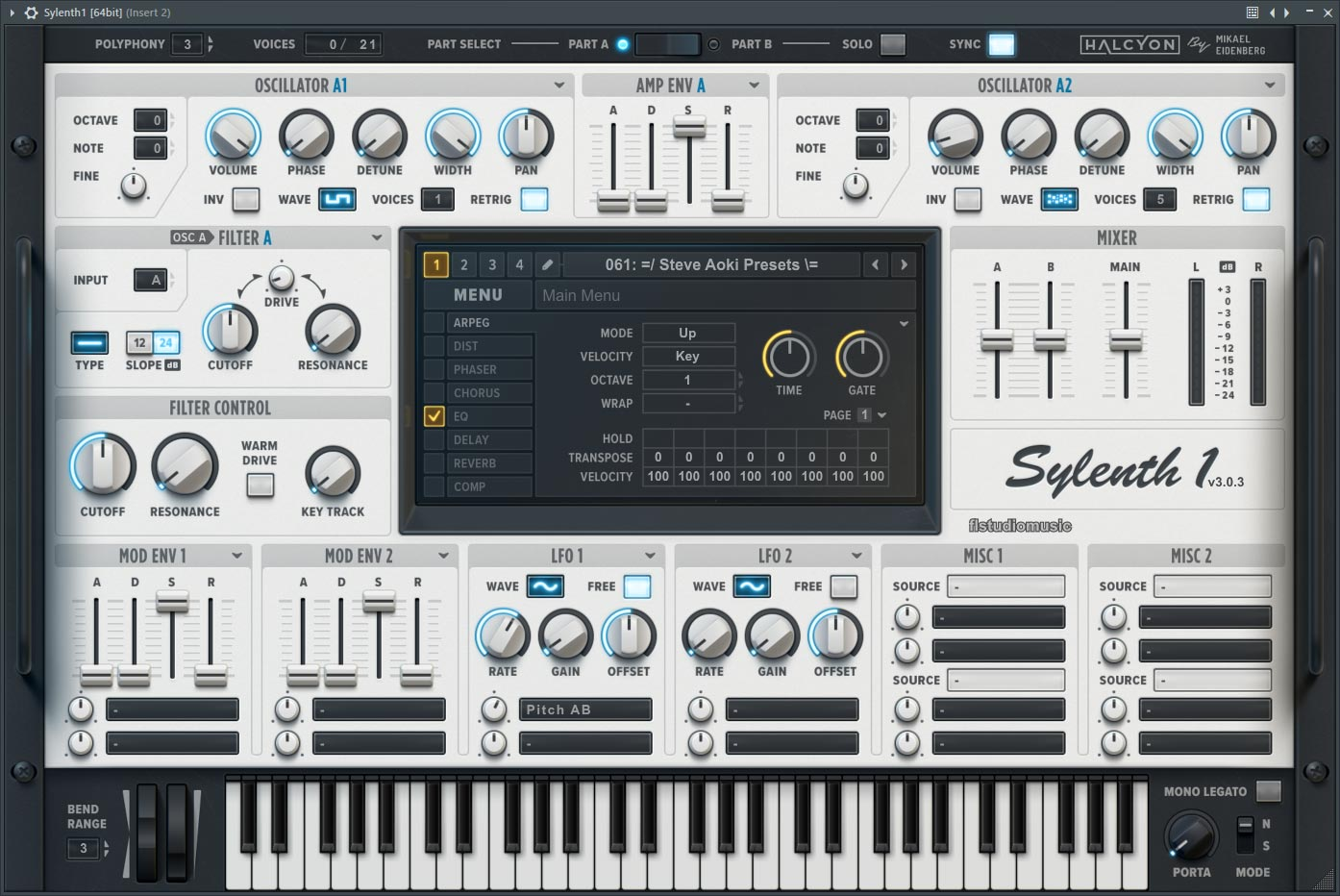 Sylenth1 3.067 Crack With Serial Key 2021 Download [Win/Mac]