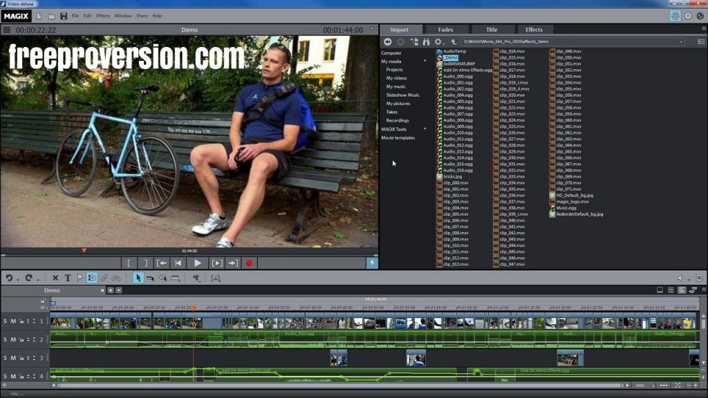 Magix Movie Edit Pro Crack 2021 With Serial Number Download