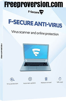 F-Secure Antivirus Crack 2021 With Key Free Download [Latest]